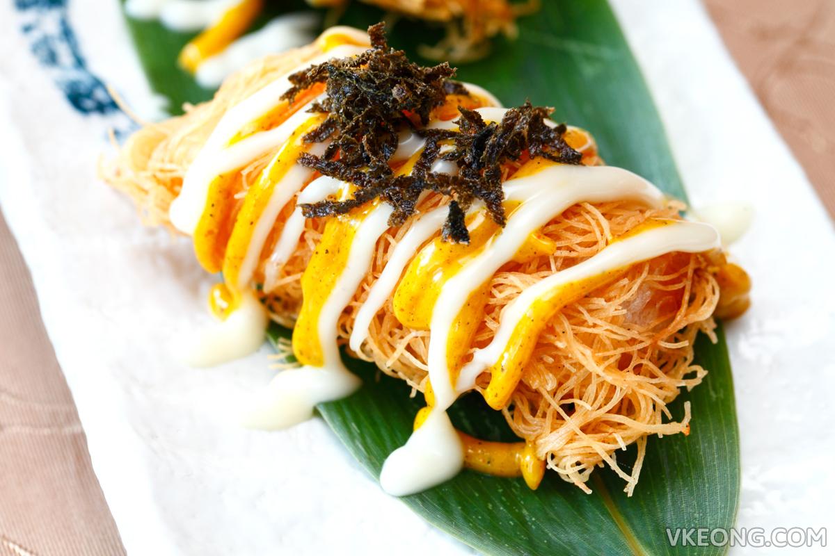 Crispy Seafood Roll