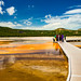 Grand Prismatic Spring in Yellowstone National Park by cy_butterfly3