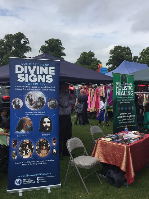2 Messiah Foundation at a Mela in Southhampton