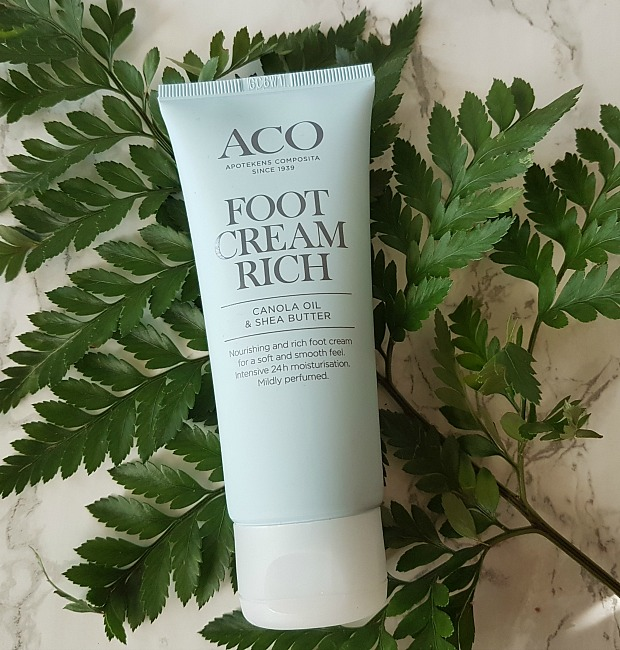 aco foot cream rich