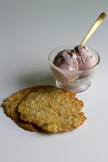lavender galettes