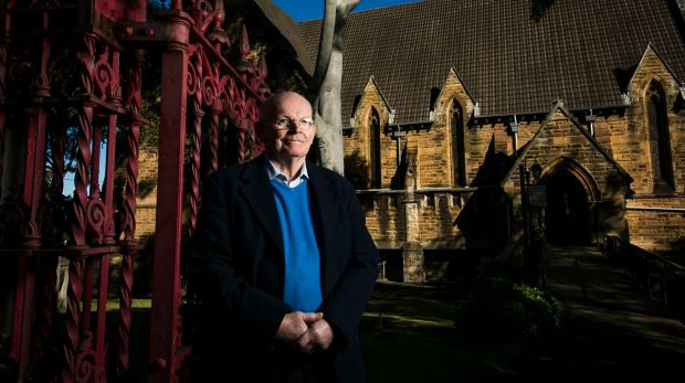 Anna Kuceras Sydney Morning Herald photo of Father Peter Maher at St Josephs Newtown