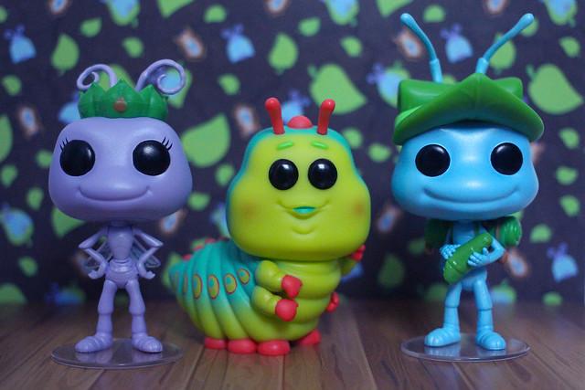 Funko Pop! Vinyls - A Bugs Life
