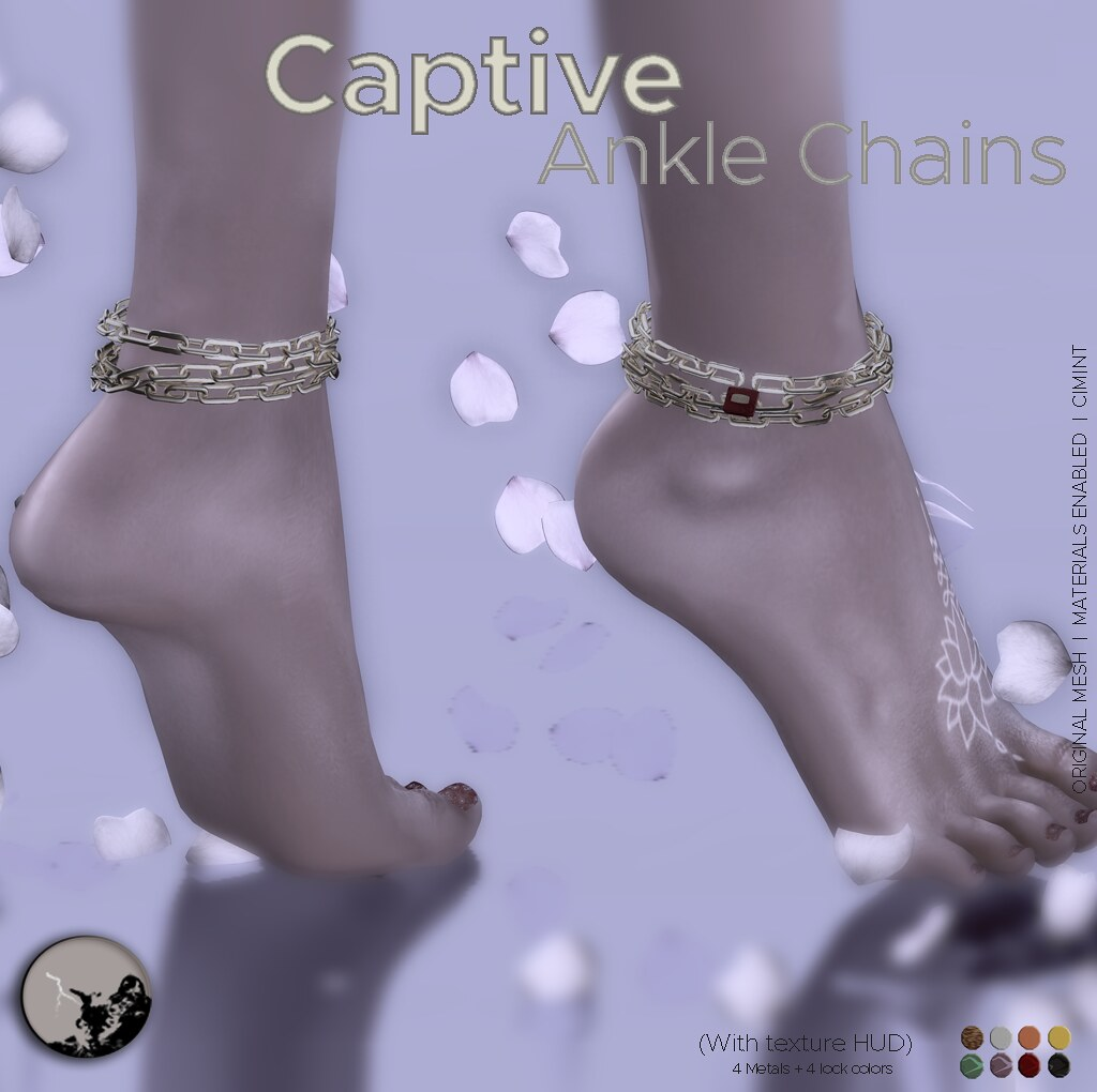 *PC* Captive ankle chains - SecondLifeHub.com