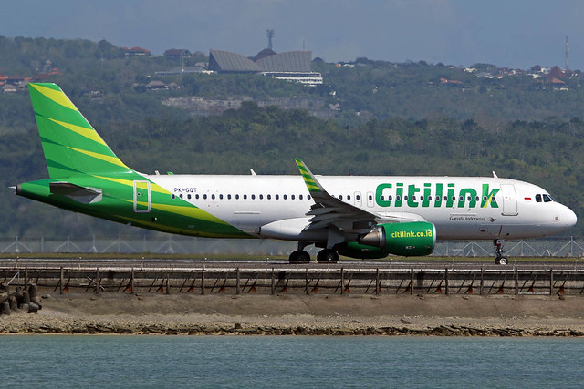 PK-GQT Airbus A320-214/WL Citilink cn 7469