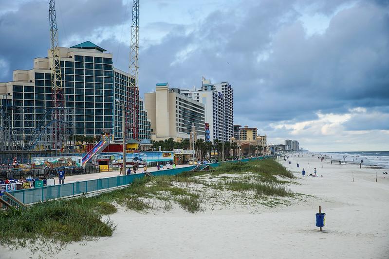 Daytona Beach walkway