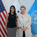 July 21, 2017 - 11:54am - Ambassador Haley meets with Hungary's Permanent Representative to the United Nations, Katalin Annamaria Bogyay, July 21, 2017