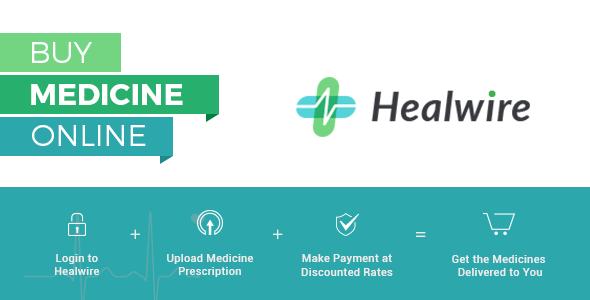 Healwire v3.0.1 – Online Pharmacy