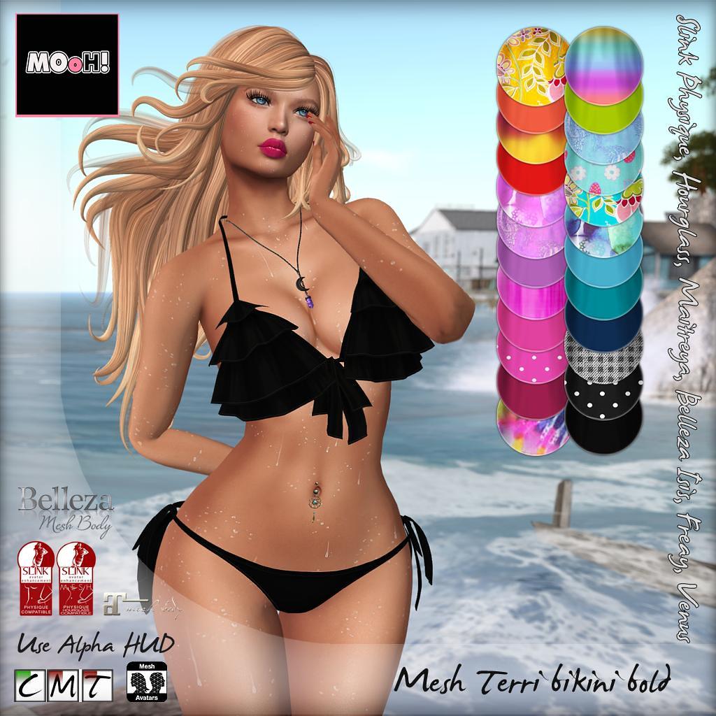 Terri bikini bold - SecondLifeHub.com