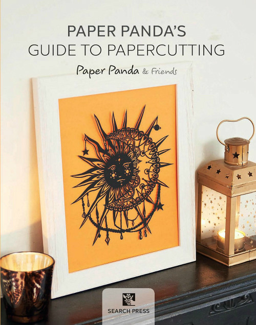 Papercut sun from Paper Panda's Guide to Papercutting by Paper Panda & Friends
