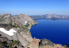 Crater Lake from Dutton Ridge
