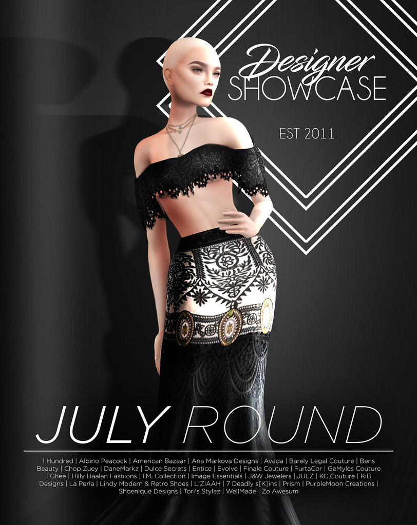 Designer Showcase- July -2017 - SecondLifeHub.com