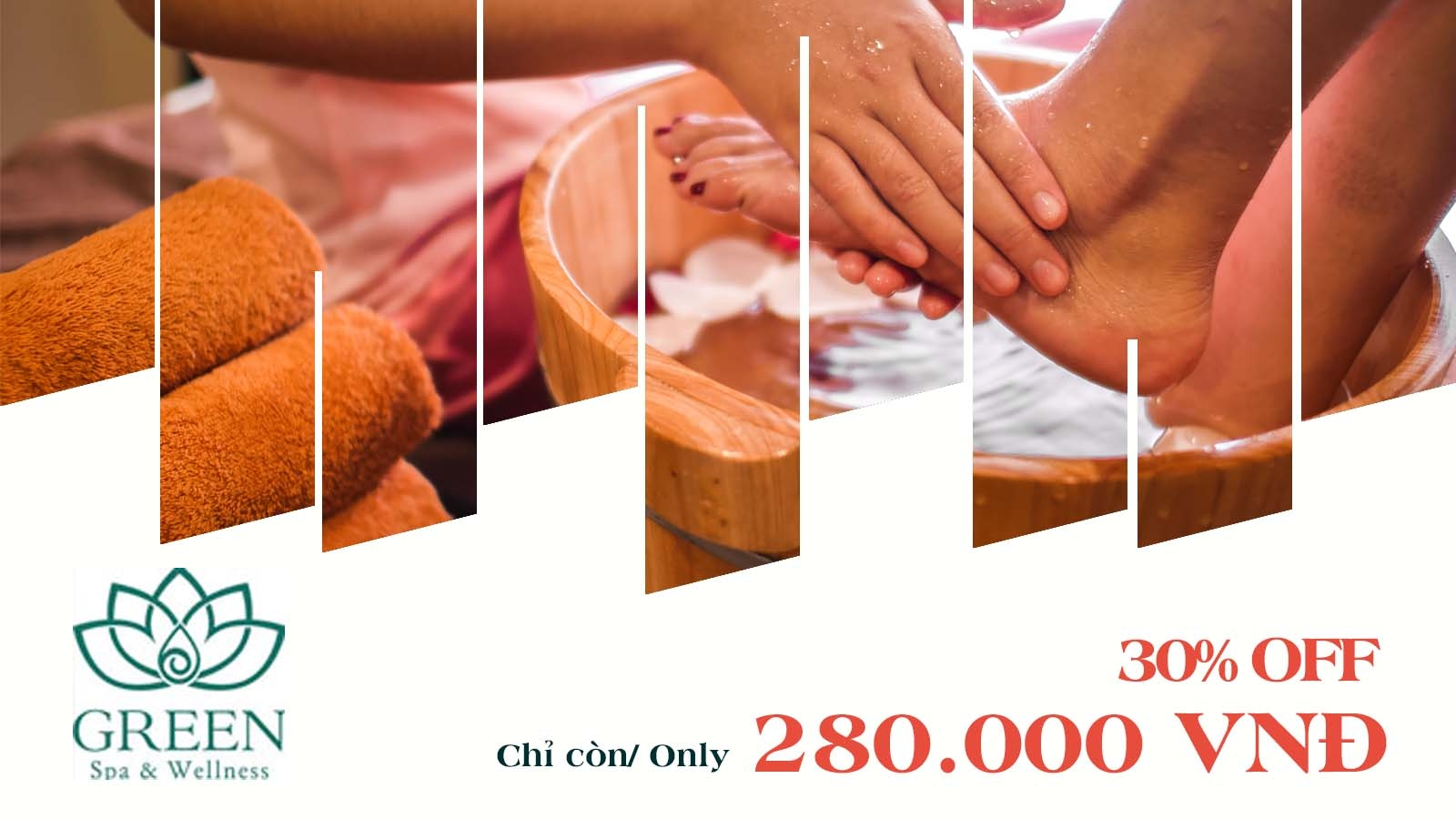 GREEN SPA & WELLNESS - 30% OFF PACKAGE: RELAXATION & FOOT MASSAGE 3