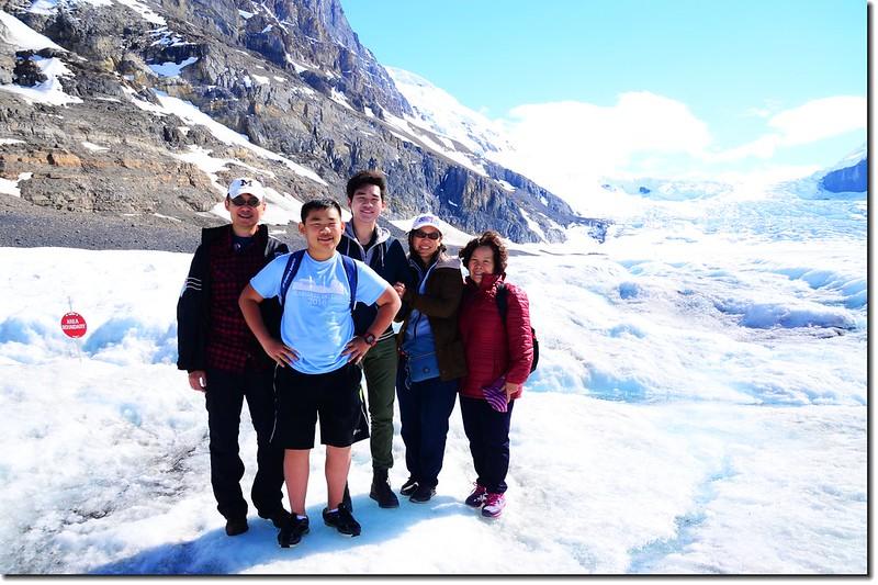 On Athabasca Glacier (1)