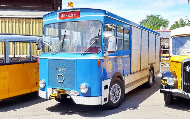 FBW L50V Tüscher 1967 VBZ 1.7.2017 1658