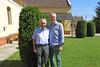 Peter Krier und Hansi Schmidt im Heimathaus