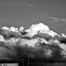 Clouds at Sunset (in b&w) I por Carl Campbell