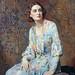Albert Henry Collings, Portrait of a Lady (Wearing a Pearl Necklace) by geldenkirchen