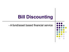 Market Finance India: Bill Discounting Companies in India