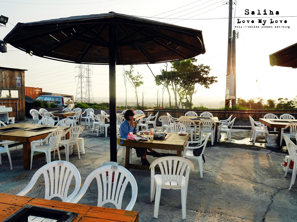 台中沙鹿區台灣大道附近夜景餐廳推薦蠔膽你來生蠔海鮮活魚燒烤吃到飽