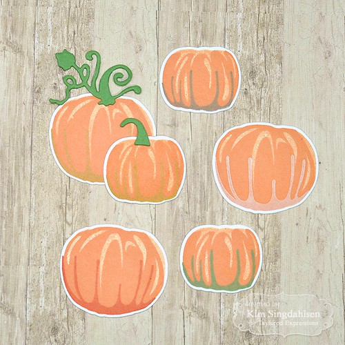 Taylored Expressions Simply Stamped Pumpkins