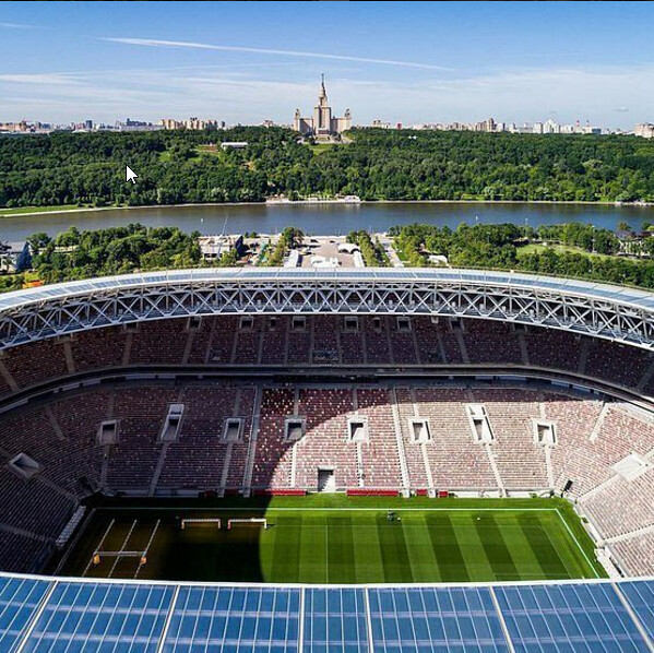 Luzhniki Stadium is ready for football matches!