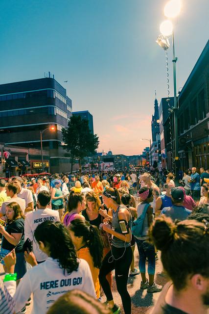 Bastille Days Runners Prepare