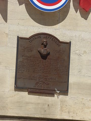 Photo of Thomas Jefferson bronze plaque