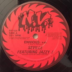 SEVILLE FEATURING JAZZY J:ENVIOUS(LABEL SIDE-A)