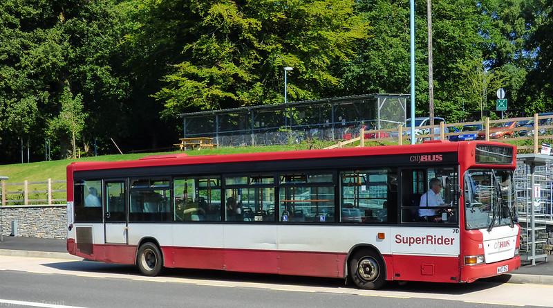 Plymouth Citybus 070 WA03BHZ