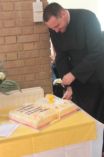 Fr Michael Bates first Mass