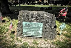 Sam Adams Headstone at Granary Burial Ground