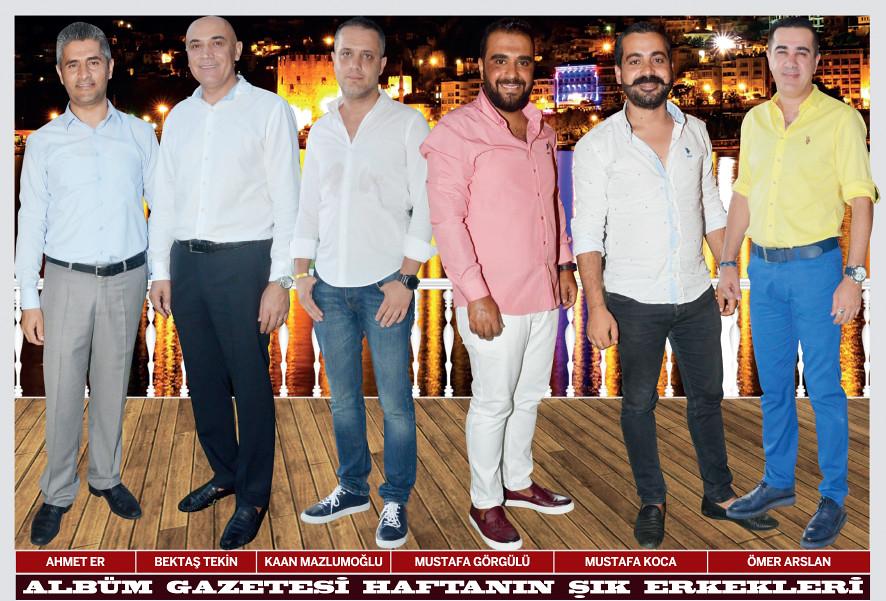 Ahmet Er, Bektaş Tekin, Kaan Mazlumoğlu, Mustafa Görgülü, Mustafa Koca, Ömer Arslan