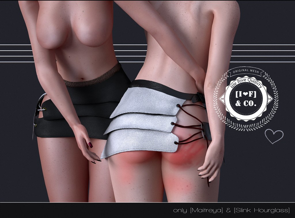 [I<3F] Skirt [04] @KinkyMonthly - SecondLifeHub.com