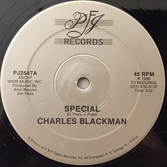 CHARLES BLACKMAN:SPECIAL(LABEL SIDE-A)