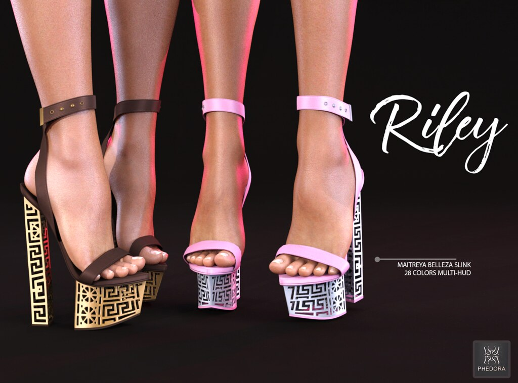 "Phedora for Anybody Event- ""Riley"" heels! ♥ - SecondLifeHub.com"