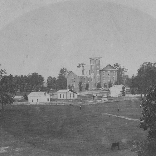 Have you ever wondered what Valparaiso University looked like around the time it was first founded? Take a look back in time in this #TBT of Valpo from 1868! You could say we've expanded a bit in the last 150 years. #GoValpo