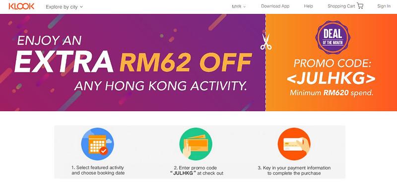Klook HK deal