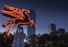 Pegasus Over Big D