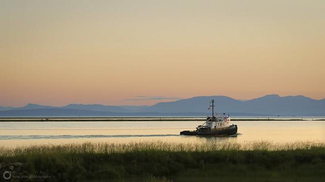 Garry Point Sunset
