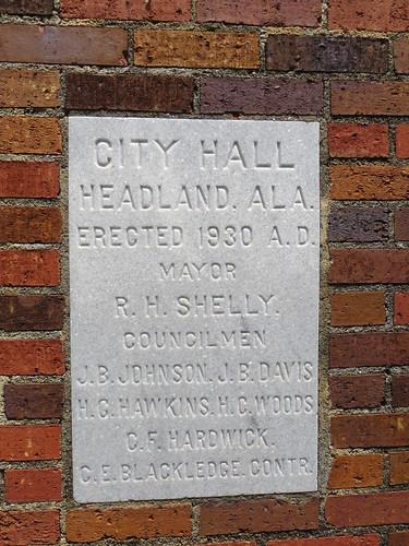 City Hall CS Headland AL