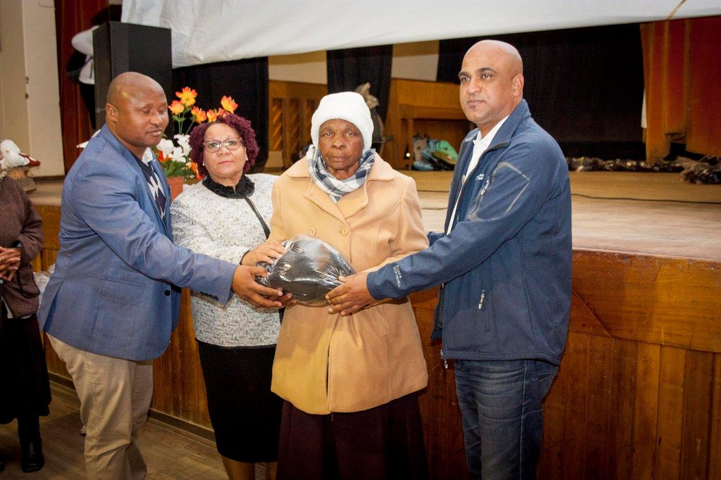 Noupoort wind plant supports the legacy of Mandela in the local community