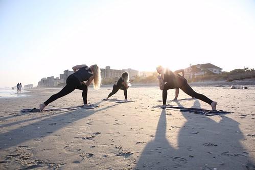 Yoga Retreat On The Beach