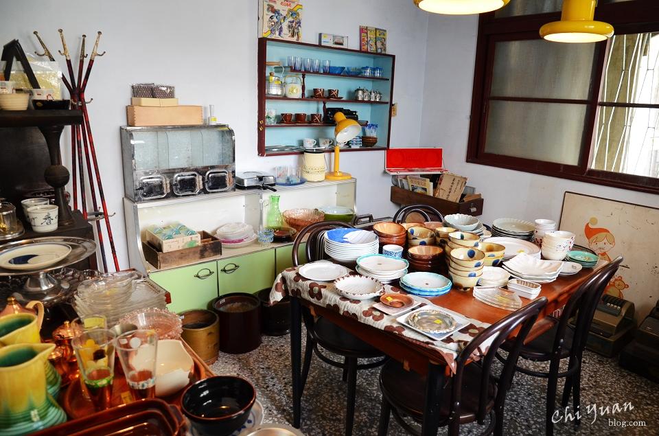 [台南]中西區餐桌上的鹿早。老房子尋覓日式生活食器