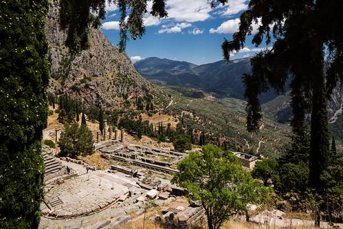 ancientgreece delfi ellas greece phocis ruins theatre δελφοί φωκίδα ἑλλάσ fokida thessaliastereaellada lensshift canontse24mmf35lii canoneos5dmkiii