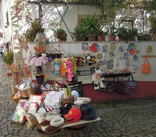 Portugal (Obidos) One of the traditional shops