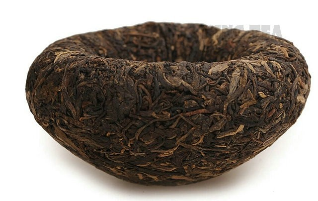 Free Shipping 2009 XiaGuan ChenXiang Green Boxed Tuo Bowl 200g *5 = 1000g YunNan MengHai Organic Pu'er Raw Tea Weight Loss Slim Beauty Sheng Cha (Copy)