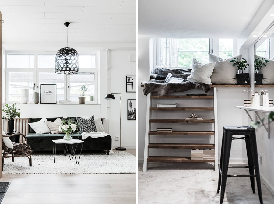 Simple but Stylish Minimal Scandinavian Home
