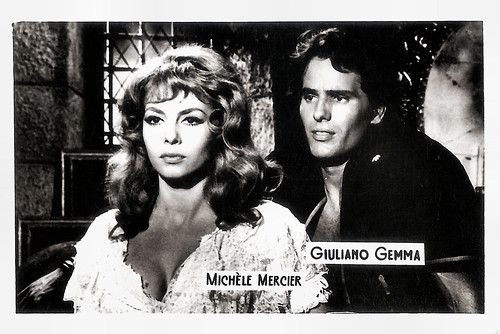 Michèle Mercier and Giuliano Gemma in Angélique, marquise des anges (1964)