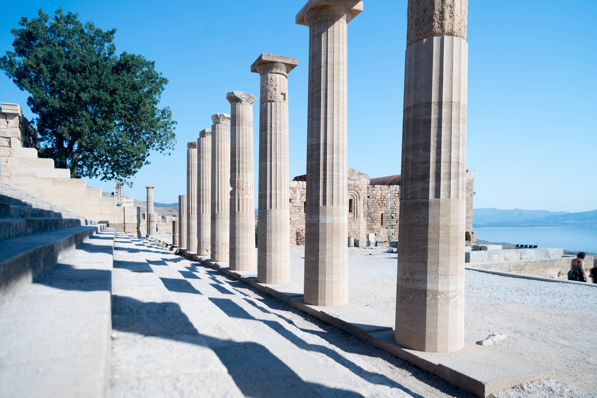 Lindos Rhodes Acropolis